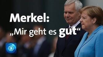 Erneuter Zitteranfall: Merkel weist Zweifel an ihrer Gesundheit zurück