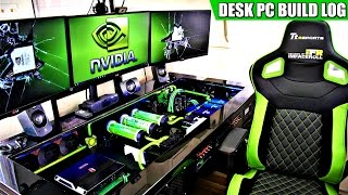 Download lagu Ultimate DIY Desk PC SetupTour Full Build Log 2017 MP3