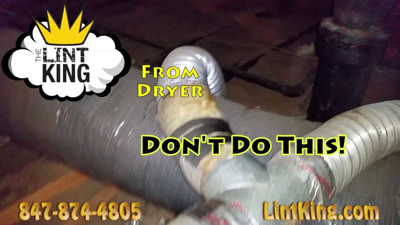 Dryer Vent Insulation Dryer Vent Cleaning What S In Your Attic