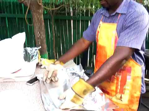 Grilled Catfish; The Delicacy To Die For - Joy Business Van On Joy News (10-3-17)