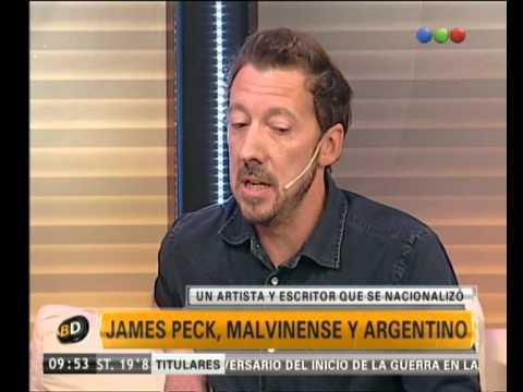 James Peck, malvinense y argentino-Telefe Noticias