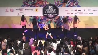 Call Me Maybe - Cheryl K - MTV Worldstage Roadshow 2012