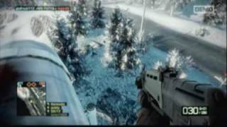 Battlefield: Bad Company 2 PS3 Demo Attacker Gameplay, Part 2
