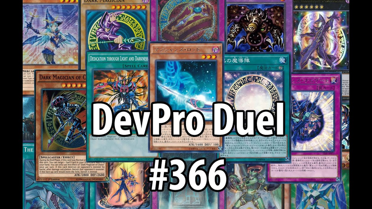 yu gi oh ygopro duel 366 dark magician april 2016 this