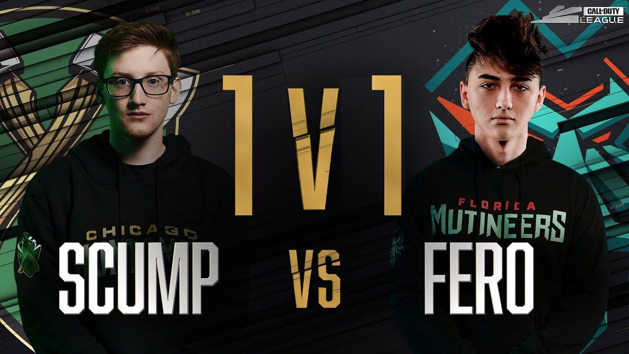 Round 1 | SCUMP vs FERO — 1v1 Gunfight | All-Star Weekend Day 1