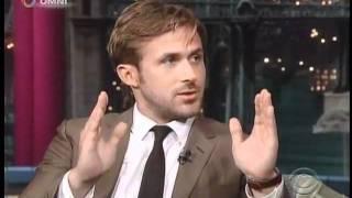 Ryan Gosling on David Letterman (July 2011)