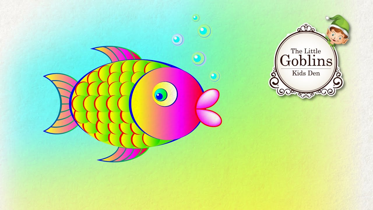 how to draw a cute fish