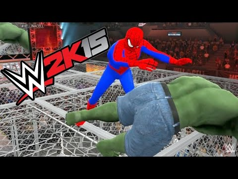 TUTORIAL: Como descargar a luchadores en WWE 2K15. PS3/XBOX-360. Spiderman vs Kratos