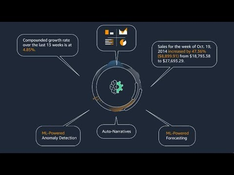 Amazon QuickSight - ML Insights