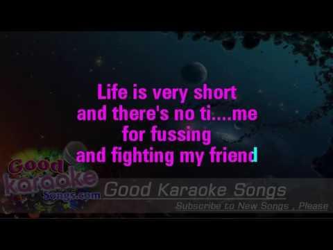 We Can Work It Out - The Beatles(Lyrics karaoke)