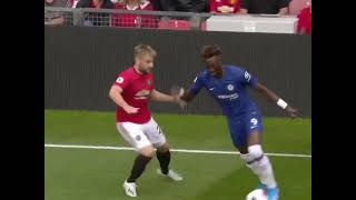 TAMMY ABRAHAM DEBUT VS MANCHESTER UNTIED at old traford