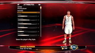 Çekim oyuncum 2K13 NBA: Kariyerim | Oluşturma - Guard J. J. Fiyatı