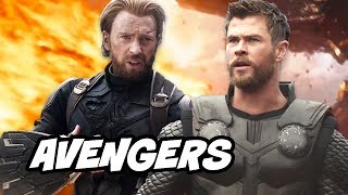 Avengers Infinity War Avengers vs Thanos Scenes - Deleted Scenes Breakdown