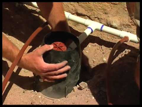 How To Install A Sub Surface Drip Irrigation System Youtube
