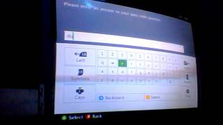 FAMILY SETTING PASSWORD RESET FOR XBOX360