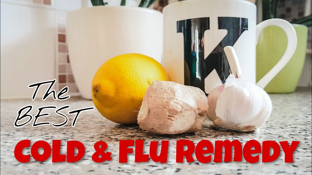 NATURAL HOME REMEDY FOR COLDS COUGHS AND FLU SYMPTOMS - YouTube