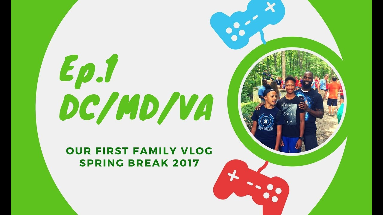 Staycation Ep 1 2017 Spring Break A Family Vlog Youtube