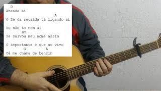 Zé da Recaída - Gusttavo Lima (Como Tocar)