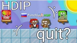 Growtopia | HDIP quit? :(