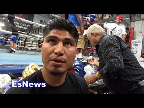 Rios vs Ortiz Mikey Garcia & Big G Break It Down EsNews Boxing