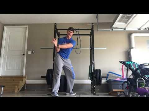 Golf workout at home for faster club head speed