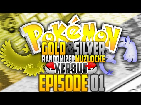 Pokemon Gold & Silver Randomized Nuzlocke VS w/ HauntedMuck - #01 - OLDSCHOOL FEELS!