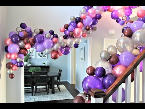 Balloon Garland DIY | How To