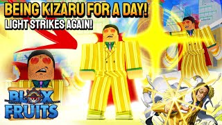 I Became KIZARU For A Day in Blox Fruits (Captured ALL PIRATES!) Roblox #Bloxfruits