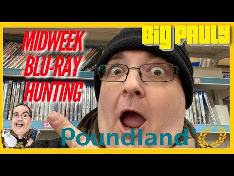 Midweek Blu-ray / DVD Hunting - New Poundland Delivery!