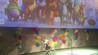 Самодурова Аня 6 лет Выступление на премьерном предпоказе