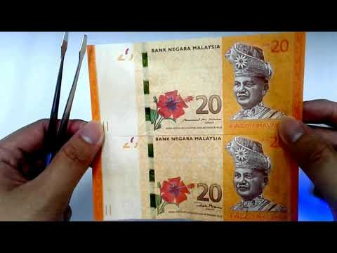 2017  Malaysia 13th Series RM20 banknote