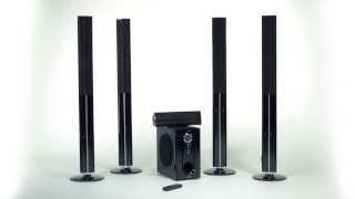 Auna 5.1-Heimkino-Surround-Set Funk-Lautsprecher 1200W