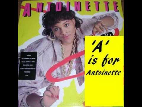 Antoinette - A is for Antoinette