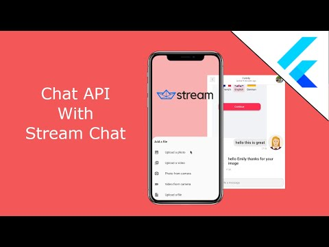 Flutter Chat API With Stream Chat