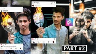 PicsArt Photo Editing Tutorial    Instagram Viral Editing Tutorial 2019    Part-2