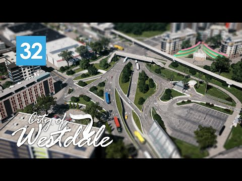 Cities Skylines: How To Solve Traffic Jams in Westdale - EP32 [4K]