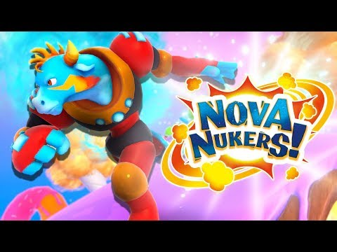 Nova Nukers - Explode The Planet with Your Friends! (4 Player Gameplay)