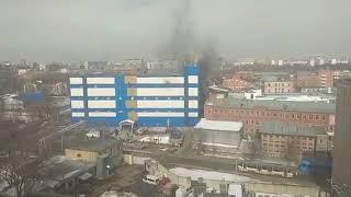 И снова ПОЖАР.Москва тц «Персей для детей», эвакуировали людей ,работают пожарные