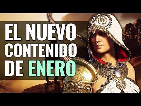 Assassin's Creed Odyssey | LAS NOVEDADES ENERO DLC ¡TIENDA SECRETA, JEFE ARGES y AYA! thumbnail