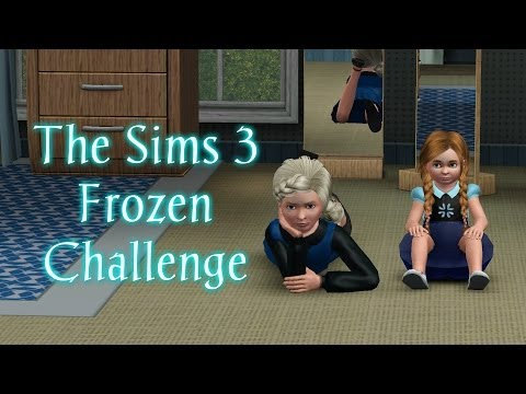 Let's Play The Sims 3 Frozen Challenge - Part 1 - Best Buddies