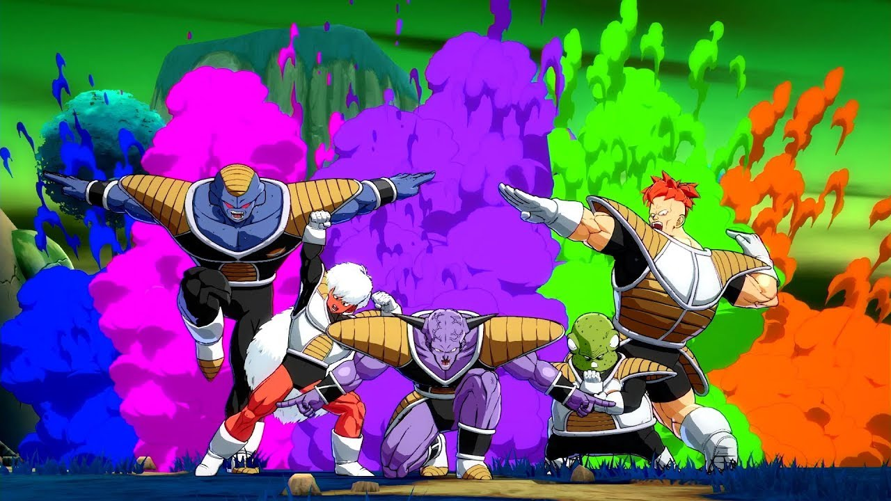 Dragon Ball Fighterz Captain Ginyu Gameplay Trailer X1 Ps4 Pc Youtube