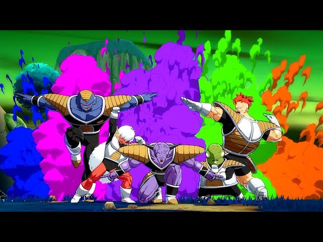DRAGON BALL FighterZ - Captain Ginyu Gameplay Trailer | X1, PS4, PC