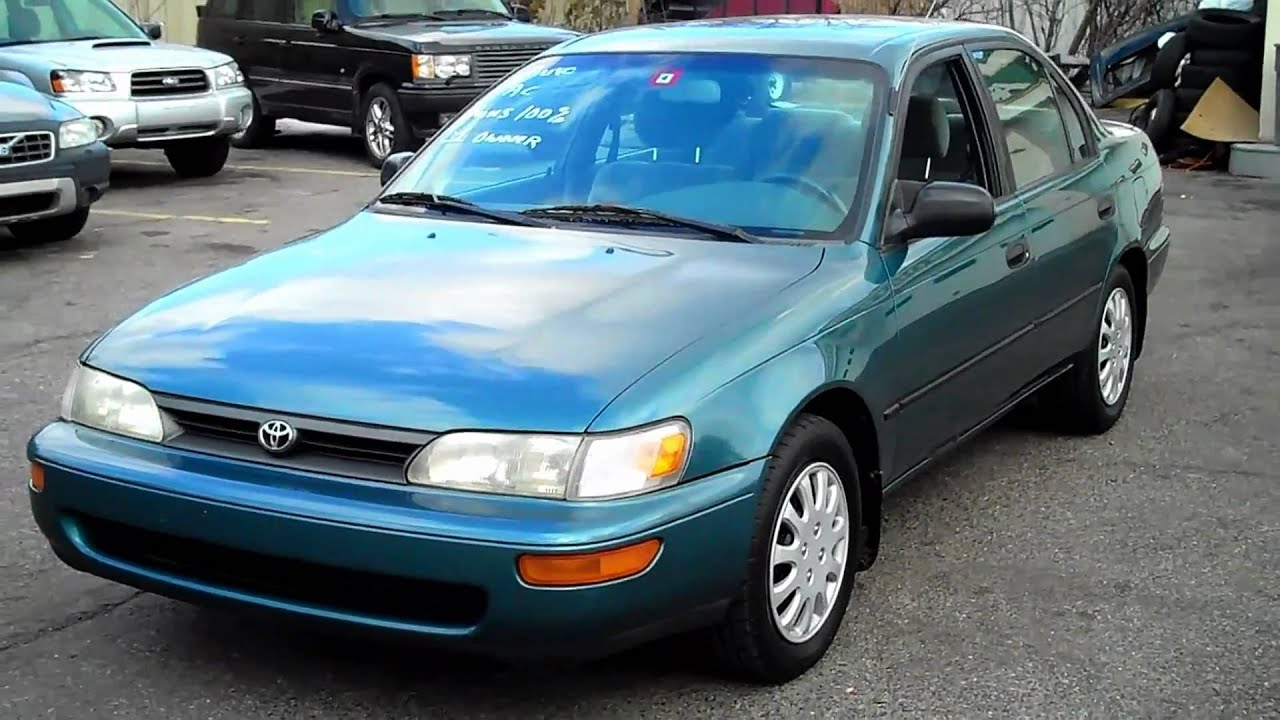 1995 toyota corolla dx sedan www chrisautosouthinc com agawam rh youtube com manual de usuario toyota corolla 1994 repair manual toyota corolla 1994