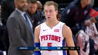 Luke Kennard Comes Up CLUTCH In Comeback Win - 15 Pts *Highlights*   PISTONS vs GRIZZLIES   4.9.19