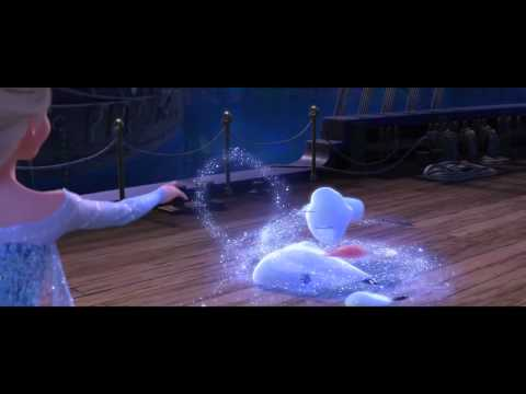 Let it go in 4 languages (Spanish, English, French and German)