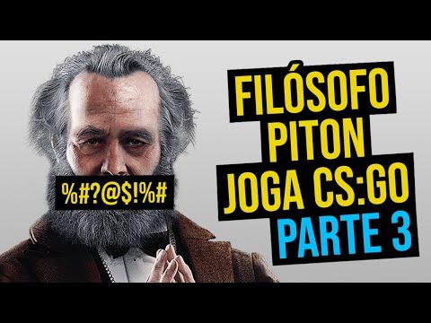 FILÓSOFO PITON JOGA CS:GO [PARTE 3]