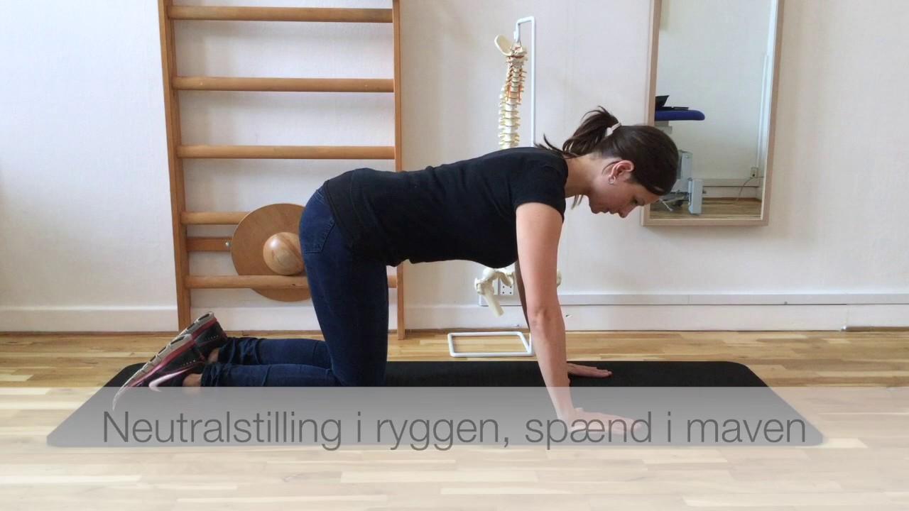 låst ryg øvelser