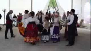 """Canción de """"El Pelele"""". Grupo de danzas Medina de Rioseco en Villavellid 2015."""