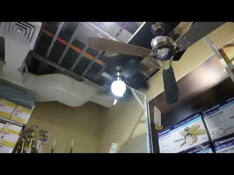"30"" westinghouse turbo swirl ceiling fan (running on display at"