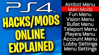 PS4 MODS/HACKS ARE ONLINE? *explained* (PS4 Mods)::